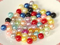 Wholesale Pearl Spacers - 20-40mm ABS Acrylic Plastic Pearl Spacer Beads 500gram per Bag DIY Jewelry Making Beads Large Stocks