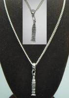 Wholesale Big Ben Souvenir - Vintage Silver BIG BEN CLOCK Charm Choker Collar Necklaces&Pendants For Women Gift DIY Jewelry Fashion Accessories Souvenir Hot Sale Q50