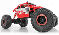 Wholesale Rc 4x4 Trucks - Cross-country 1 18th Scale 2.4Ghz 4wd 4x4 electric hot rc toy cars remote control model cars rc rock crawler monster truck HB