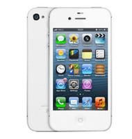 telefon 4s 16gb großhandel-Apple iPhone 4s überholte freigesetzte 8GB / 16GB / 64GB ROM iOS GPS WiFi WCDMA 8MP GPRS Handy