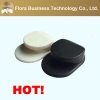 Wholesale Cheap Wall Hooks - Wholesale Cheap Price Two Color Black and White Convenience Hang on Wall Hook Finger Ring Holder for Cell Phone