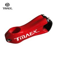 TMAEX-Carbon Stem Full New 10 Degree Bicicletas de carbono Stem Road Bike Bielas de carbono MTB Bike Stem Red Glossy 31.8mm