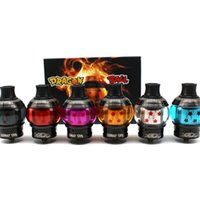 Dragon Ball RDTA Atomiseur RTA RTA 4 ml 24mm Atomiseur de réservoir reconstructible Transformez librement RTA et RDA Vapo énorme DHL Free Ship