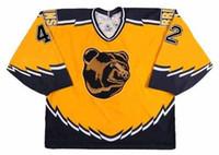 Wholesale Boston Stocks - Boston Bruins Jersey 35 ANDY MOOG 1990 37 PATRICE BERGERON 40 TUKKA RASK 41 JASON ALLISON 42 PJ STOCK Vintage Throwback Hockey Jerseys