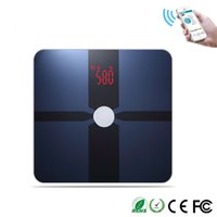 Wholesale Digital Scale For Body - Wholesale-New!!! 250KG Smart Bluetooth Body Fat Digital Scale with FREE App for IOS&Android Smartphone free shipping