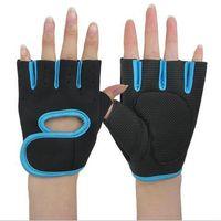 Wholesale Mountain Bike Fingerless Gloves - Coo lChange outdoor Half Finger Cycling Gloves Mens Women's Summer Sports Bike Gloves Nylon Mountain Bicycle Gloves