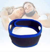 Wholesale Anti Snoring Devices - Hot Sale Neoprene Anti Snore Chin Strap Stop Snoring Belt Anti Apnea Jaw Solution Sleep Device