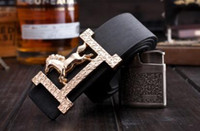 Wholesale Branded Jeans Names - New product mens belts luxury 100% genuine leather brand name belt for men Pin jeans belts best