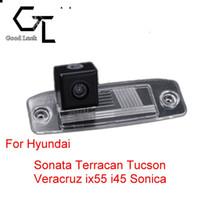 wireless parking reversing camera NZ - For Hyundai Sonata Terracan Tucson Veracruz ix55 i45 Sonica Wireless Car Auto Reverse CCD HD Rear View Camera Parking Assistance