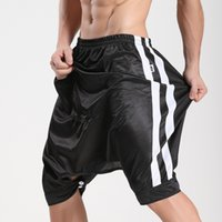 Wholesale Open Crotch Pants Men - Wholesale-MIBOER new men's Home Furnishing culottes five pants with open crotch pants are the 331 essential Metrosexual nightclub type