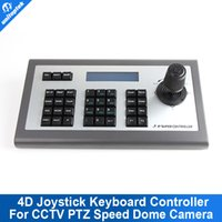 Wholesale Axis Ip - 4D 4-AXES Joystick IP PTZ Keyboard Controller Support XM Aipstar IP Security CCTV Speed Dome PTZ Camera