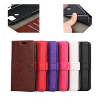 Wholesale holster wallet resale online - Crazy Horse Mad Oil Leather Wallet For Galaxy s7 Active soft tpu case Photo Frame Holster Flip Cover case