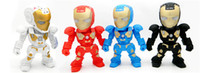 Wholesale portable speaker c 89 for sale - Group buy New C Iron Man bluetooth speaker with LED Flash light Iron Man figure Robot portable Mini wireless subwoofers bluetooth support TF FM USB