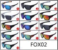 Wholesale Top Designers Wholesale - Fashion New Men Sunglasses Fox sunglasses Brand Designer Men Sun Glasses Outdoor sports sunglasses for men Top Quality D502 30