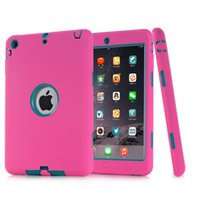 Custodia per robot antiurto Defender militare Custodia in silicone per Extreme Heavy Duty per ipad 2 3 4 5 6 air mini 4