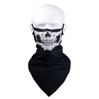 Wholesale WEST BIKING Riding Mask UV Resistant Full Face Neck Guard Headgear Ghost Bicycle Hat Outdoor Sports Cycling Masks Colors