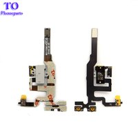 Wholesale iphone 4s jack - High Quality Replacement Parts For iPhone 4S Jack Audio Volume Mute Silent Switch Button Key Flex Cable