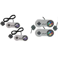 Wholesale Nintendo Games Consoles - 10 Keys Game Gaming 16 Bit Controller Gamepad Pad Joystick for SFC Super Nintendo SNES System Console Control Pad Wholesale