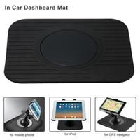 Wholesale Ipad Car Dash - Wholesale- KKmoon Car Interior Accessories GPS Dashboard Mount Holder Car Style Nav Dash Mat for iPad GPS Mobile Phone Anti-Slip Mat
