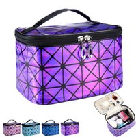 Wholesale Wholesale Lattice Panels - New Women Multi-function Travel Cosmetic Bag Makeup Case Pouch Toiletry Organizer for comping and outdoor out112