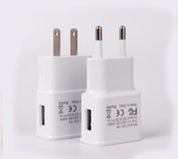 Wholesale Galaxy S2 Dock - Samsung Wall Charger EU US 5V 2A USB Home Adapter Travel Chargers For Galaxy Note S3 S2 100pcs