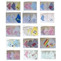 Wholesale Wholesale Fashion Bandage Clothing - INS New 3pcs lot Fashion Baby Bibs cotton Triangular Bandage For Boys Baby Bibs Towel Bandanas Infant Towel Baby Clothing Free Shipping