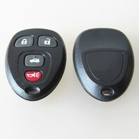 Wholesale Popular Keyless Entry - 2016 NEW Popular auto key blank FOB key for GMC 3+1 button remote key shell keyless entry cover free shipping