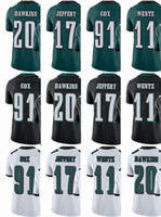 Wholesale Browning Eagle - Philadelphia Eagle Jersey Mens #11 Carson Wentz #17 Alshon Jeffery #91 Fletcher Cox #20 Brian Dawkins Vapor#Untouchable Limited Jerseys