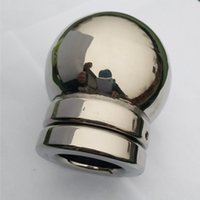 Wholesale Adult Cases - High Quality Good Drainage Hollow Penis Casing Sleeves Ring Scrotum Casing Sleeves Ring Bondage Pendant Scrotum Stretcher Adult Sex Toy