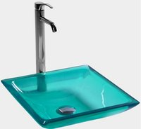Wholesale stone countertop resale online - Rectangular Bathroom Resin Acrylic Counter Top Sink Vesel Solid surface Stone Boakroom Vanity Colored Wash Basin