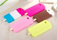 Wholesale Ice Cream Case For Iphone - 2016 PINK Ice Cream Victoria Phone Case ice-lolly Phone Cover Lovely and Creative Case Secret For Iphone 4 5 6 6s S5 S6 S7