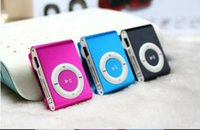 Wholesale free music clip - TF card iron clip Mp3 music player cute clip MP3 metal iron clip MP3 with free shipping