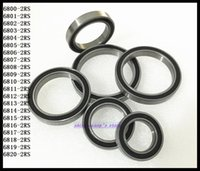 Wholesale thin wall ball bearings - Wholesale- 1pcs 6819-2RS 6819 RS 61819-2RS 95x120x13mm The Rubber Sealing Cover Thin Wall Deep Groove Ball Bearing Brand New