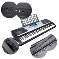 Wholesale Toy Electric Organ - Meike MK-931 Dual-Keyboard Teaching-Type 61 Keys Electronic Electric Keyboard Piano Organ with Touch Response Function LCD Display Screen &