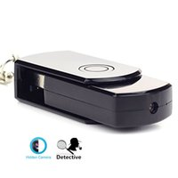 Wholesale Cam Recoder - 32GB 720P Mini Disk Flash Driver Hd Digital Video Hidden Camera Mic Spy Cam DVR USB Card Recoder