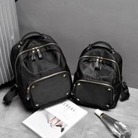 Wholesale travel bags backpack price - High quality Oxford cloth backpacks women black handbags fashion travel bags for teenager factory price niujinbu