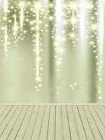 fondo de pantalla de cumpleaños al por mayor-Sparkling Stars Kids Birthday Party Telón de fondo Bebé Recién nacido Estudio Photo Shoot Wallpaper Bokeh Glitter Fotografía Fondo Piso de madera
