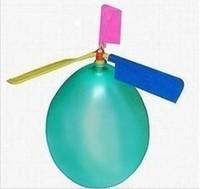 bolo de casamento de mesa superior venda por atacado-Frete grátis 24 pçs / lote voando balão de helicóptero diy balão de avião de brinquedo crianças brinquedo auto-combinado helicóptero balão