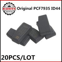 Wholesale Dodge Keys Blank - Auto transponder chip Blank pcf7935 PCF7935AA repalce PCF7935AS transponder chip 7935 original for bmw id44 chip 20pcs lot