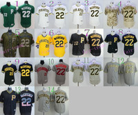 flexbase 22 andrew mccutchen jersey baseball pittsburgh pirates throwback jerseys stitched cool base pullover yellow camo pittsburgh pirates blank