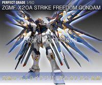 Wholesale Pvc Figure Gundam - DABAN Free shipping am 1 60 Perfect Grade Strike Freedom am action figures robot scale models plastic model toy