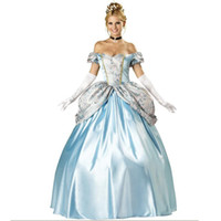 Wholesale Fairy Tales Princess Costume Elegant Carnival Cosplay Women Costume W158961