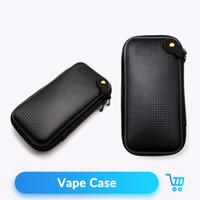 vape taşıma çantaları toptan satış-Kuvars Banger Fermuar Vaka Elektronik Sigara Aksesuarları X6 KTS DIY Tool Kit EGO X6 Vape Kılıf Carry
