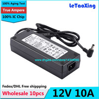 Interruttore di 10pcs AC DC Power Supply 12V Adapter 120W 10A per 5050 3528 LED LCD Monitor CCTV Con IC Chip