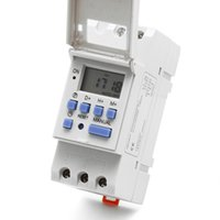 Wholesale Digital Timer Relay Switch - New DIN Rail Time Relay Switch Digital LCD Power Programmable Timer DC 12V