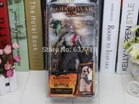 5pcs / Lot NECA Dio della Guerra Kratos in Golden Fleece armatura con Medusa testa 7.5