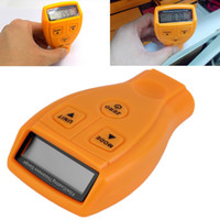 Wholesale Digital Paint Coating Thickness - Wholesale-2016 NEW Hot Worldwide Digital Automotive Coating Ultrasonic Paint Iron Thickness Gauge Meter Tool