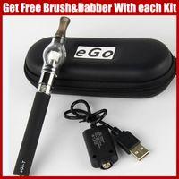 Wholesale Ego Herb Vaporizers - Dab pens EGO vaporizer dry herb ecigarette Glass Globe herbal vaporizers EGO-T Wax Vape Pen 650mAh 900mAh 1100mAh ego ecig batteries vaper