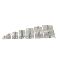 Wholesale 2pcs inch inch inch inch inch inch inch Stainless Steel Butt Hings Closet Cabinet Box Furniture Rotated Hinges