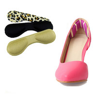 Wholesale Cloth Heels Wholesale - Wholesale-1 Pair Women Lady 4D Foot Care Protect High Heel Stickers Cloth Silicone Heel Paste